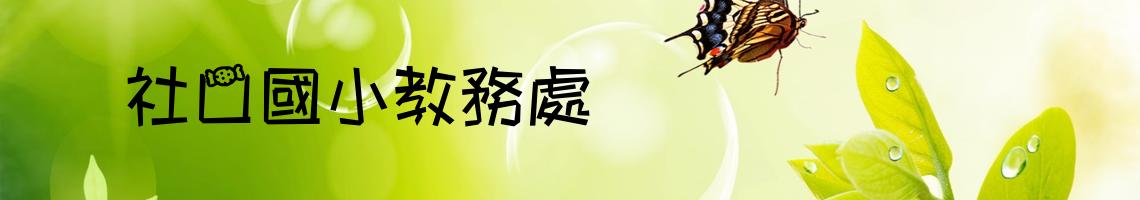 108 學年度嘉義縣社口國小教務處
