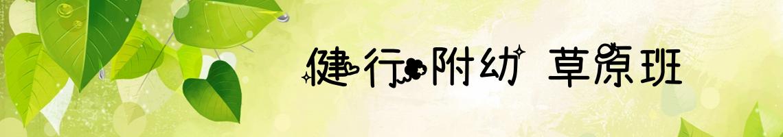 107 學年度 臺中市市立健行國小健行附幼草原班